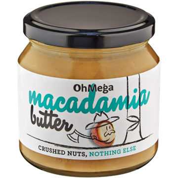 Picture of Oh Mega Macadamia Nut Butter 235g