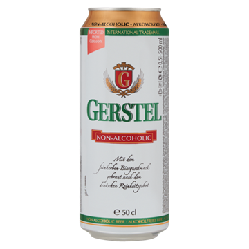 Picture of Gerstel Lager Non Alcoholic Beer 24x500ml