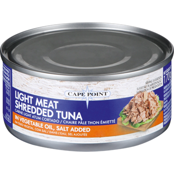 Picture of Cape Point Tuna Shredded in Oil 170g