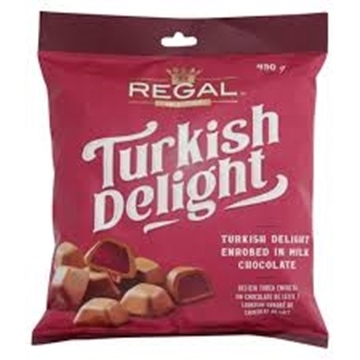 Picture of Regal Turkish Delight Chocolates 450g Bag
