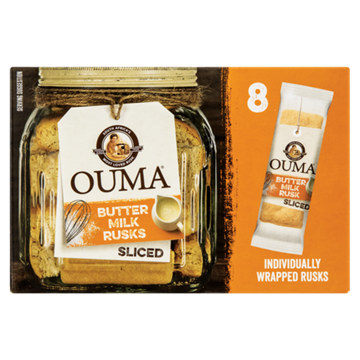 Picture of Ouma Buttermilk Sliced Rusk Pack 8 x 30g