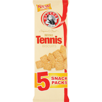 Picture of Bakers Mini Tennis Biscuits Pack 24 x 40g