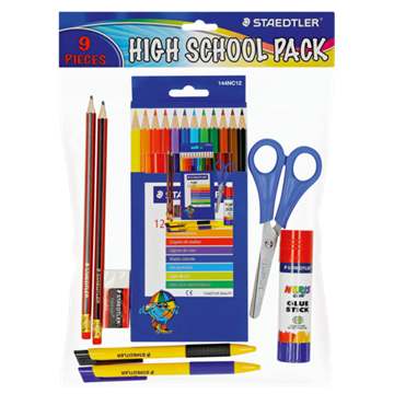 Picture of Staedtler High School Stationery Set 9 Piece