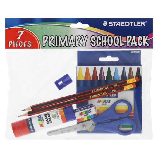 Picture of Staedtler Primary School Stationery Set 7 Piece