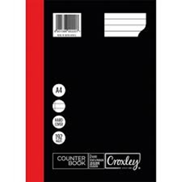 Picture of Croxley A4 Counter Book 192 Page