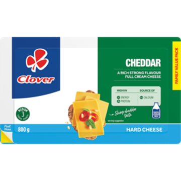 Picture of Clover Cheddar Cheese Pack 800g