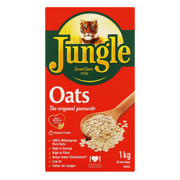 Picture of Jungle Oats Porridge Pack 1kg
