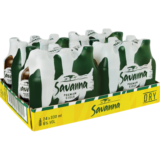 Picture of Savanna Dry Cider Bottles 24 x 330ml