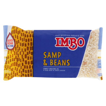 Picture of Imbo Samp & Beans Pack 500g
