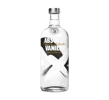 Picture of Absolut Vanilla Vodka Bottle 750ml