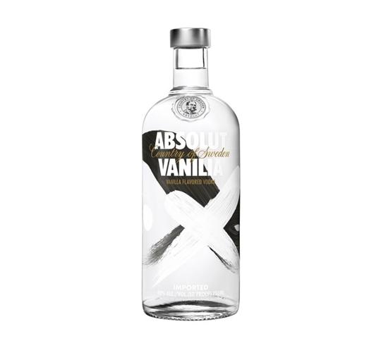 Picture of Absolut Vanilla Vodka Bottle 750ml