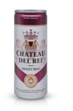 Picture of Sweet Red Chateau Del Rei Sparkling 24 x 250ml can
