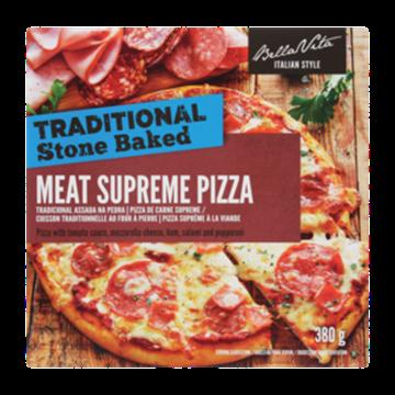 Picture of Bella Vita Frozen Meat Supreme Pizza 380g
