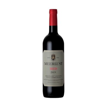 Picture of Meerlust Red 2019 750ml Bottle