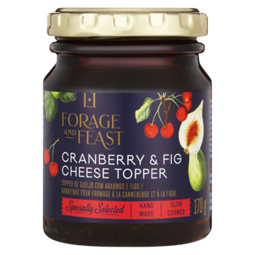 Picture of Forage & Feast Cranberry &  Fig Cheese Topper 170g