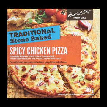 Picture of Bella Vita Frozen Spicy Chicken Pizza 350g