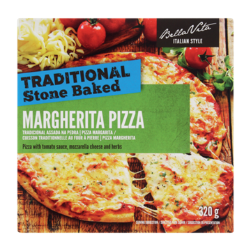 Picture of Bella Vita Frozen Margherita Pizza 320g