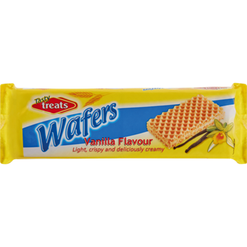 Picture of Tasty Treat Vanilla Wafers 100g