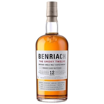 Picture of Benriach Smoky 12 Year Old Whisky 750ml