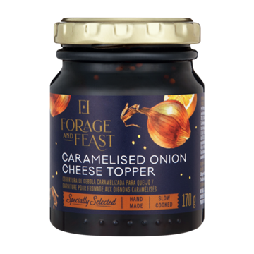 Picture of Forage & Feast Caramelised Onion Cheese Topper170g