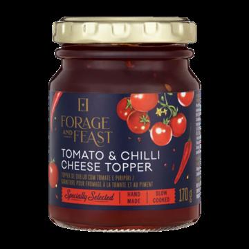 Picture of Forage & Feast Tomato & Chilli Cheese Topper 170g