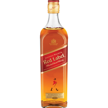 Picture of Johnnie Walker Red Label Whiskey Bottle 750ml