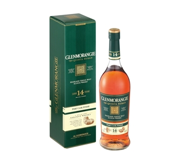 Picture of Glenmorangie The Quinta Ruban 14 Year Whisky 750ml