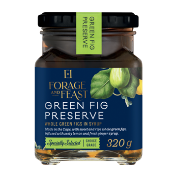 Picture of Forage & Feast Green Fig Preserve 320g