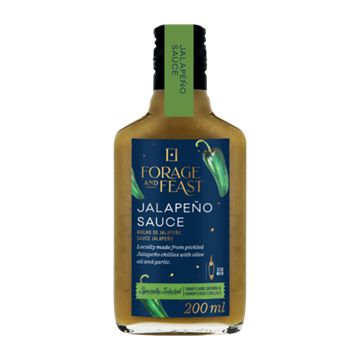Picture of Forage & Feast Hot Jalapeno Sauce 200ml