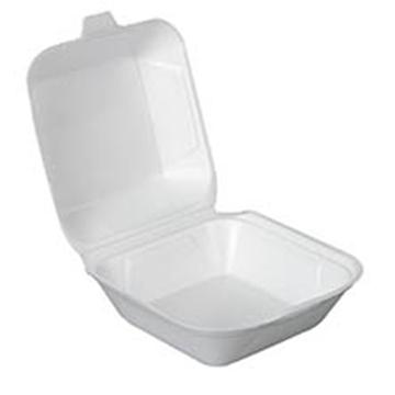 Picture of Fomo Tray White Burger Box No6 125s