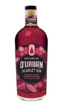 Picture of D'Urban Scarlet Gin 750ml Bottle