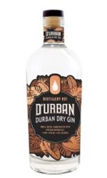 Picture of D'Urban Dry Gin 750ml