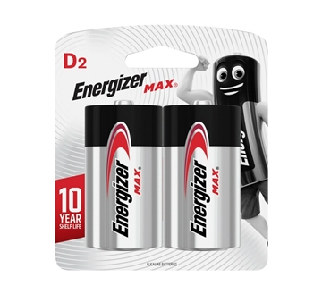 Picture of Batteries D Alkaline Energizer Max