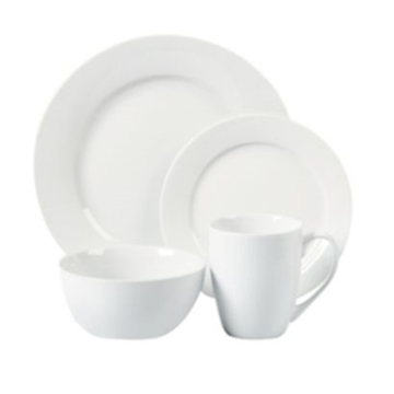 Picture of Pearl White Dinner Plate Pack 12s