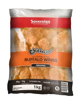 Picture of Chickentizers Frozen Buffalo Wings 1kg