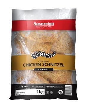 Picture of Chickentizers Frozen Chicken Schnitzel 1kg Pack