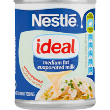 Picture of Nestlé Ideal Unsweetened Evaporated Milk 380g