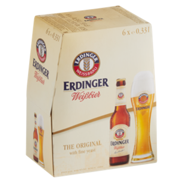 Picture of Erdinger Weiss Wheat Beer 6 x 330ml