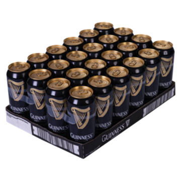Picture of Guinness Draught Beer Cans 24 x 440ml