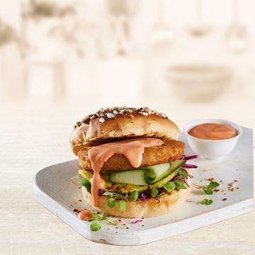 Picture of Frys Frozen Vegetarian Chicken Burger 40 x 80g